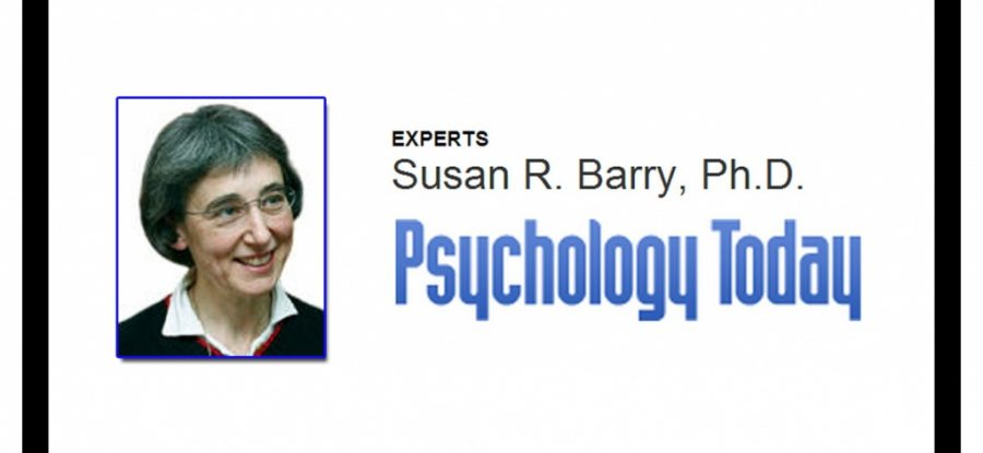 A Special Mention from Sue Barry on Psychology Today!