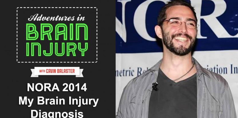 My Brain Injury Diagnosis – Keynote Speech NORA 2014