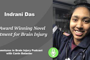 Podcast 24 – An Award Winning Novel Treatment for Brain Injury