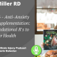 Episode 36 – Anti-Anxiety Diet and Supplementation: The 6 Foundational R's to Your Health